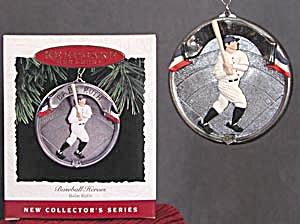 Babe Ruth Baseball Heroes Hallmark Ornament (Image1)
