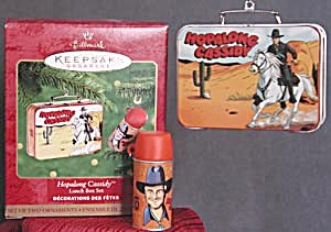 Hopalong Cassidy Lunch Box Hallmark Ornament (Image1)