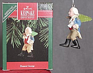 Honest George Christmas Ornament (Image1)