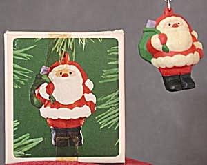 Jolly Santa Hallmark Ornament (Image1)