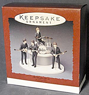 Hallmark Keepsake Ornament The Beatles Gift Set (Image1)