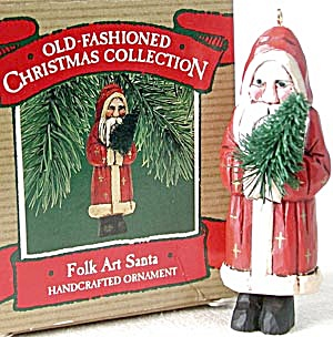 Hallmark Keepsake Ornament Folk Art Santa (Image1)