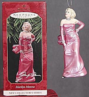 Hallmark Marilyn Monroe Ornament (Image1)