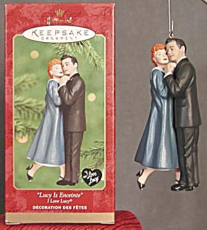 "Lucy ""Lucy Is Enceinte"" Hallmark Ornament (Image1)"