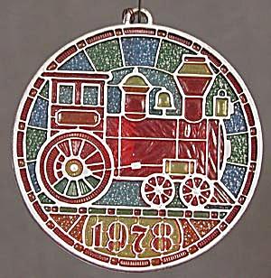 Locomotive Tiffany Classics Hallmark Ornament (Image1)