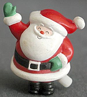 Hallmark Wind-up Waving Santa Pin (Image1)