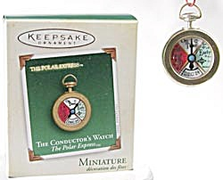 Polar Express Conductor's Watch Hallmark 2005 Ornament (Image1)