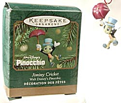 Hallmark Miniature Ornament Jiminy Cricket (Image1)