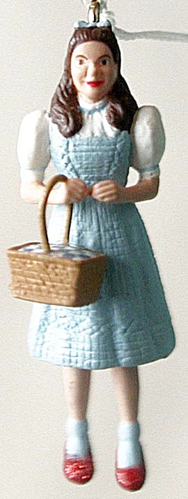 Dorothy Wizard of Oz Mini Hallmark Ornament (Image1)