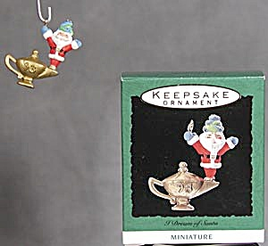 Hallmark Miniature Ornament: I Dream of Santa (Image1)