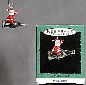 Hallmark Miniature Ornament: Refreshing Flight (Image1)