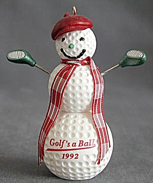 Golf's A Ball Hallmark Ornament (Image1)