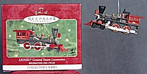 Lionel General Steam Locomotive Hallmark Ornament (Image1)
