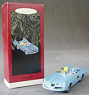 Batmobile Hallmark Ornament