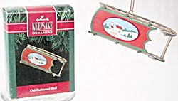 Old Fashioned Sled Hallmark Ornament (Image1)