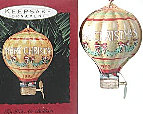 Hallmark Tin Hot Air Balloon (Image1)