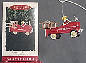 Murray Fire Truck Hallmark Ornament (Image1)