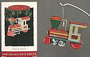 Yuletide Central Locomotive Hallmark Ornament (Image1)