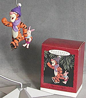 Tigger and Piglet Hallmark Christmas Ornament (Image1)