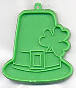 Vintage Hallmark Hat with Shamrock Cookie Cutter (Image1)