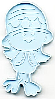 Hallmark Chickory Chick with Hat Cookie Cutter (Image1)