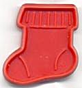 Hallmark Cookie Cutter Mini Red Stocking (Image1)