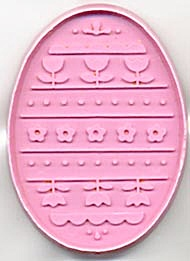 Hallmark Easter Egg With Flowers Cookie Cutter