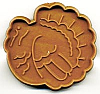 Vintage Hallmark Turkey Cookie Cutter