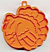 Hallmark Orange Turkey Cookie Cutter (Image1)