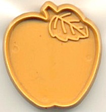 Vintage Hallmark Mini Cookie Cutter Apple
