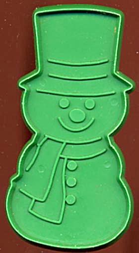 Vintage Hallmark Standing Snowman Cookie Cutter (Image1)