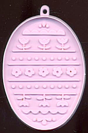 Vintage Hallmark Easter Egg With Flowers Cookie Cutter (Image1)