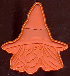 Vintage Hallmark Halloween Witch Cookie Cutter (Image1)