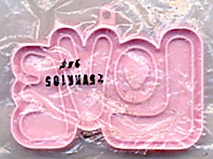 Hallmark Pink Love Cookie Cutter