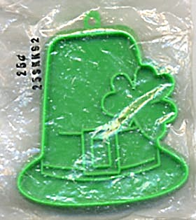 Hallmark Leprechaun Hat With Shamrock Cookie Cutter Pkg