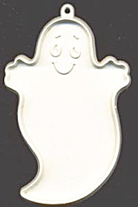 Vintage Hallmark White Ghost Cookie Cutter (Image1)