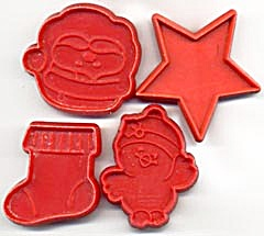 Vintage Hallmark Mini Christmas Cookie Cutters (Image1)