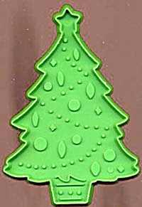 Hallmark Large Green Christmas Tree Cookie Cutter