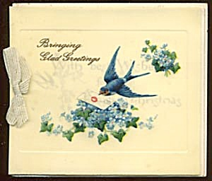 Vintage Celluloid Christmas Card (Image1)