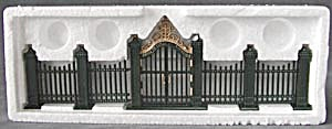 Dept 56 Heritage Village Wrought Iron Gate And Fence