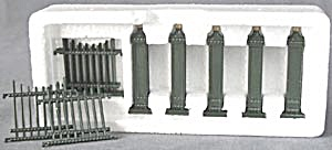 Dept 56 Heritage Village Wrought Iron Gate & Fence