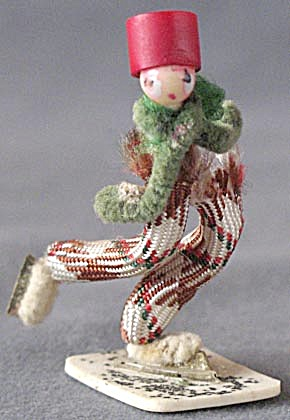 Vintage Pipe Cleaner Boy Skater