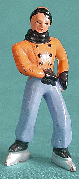 """Vintage 2 1/2"""" Lead Man Skater (Image1)"""