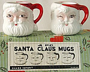 Santa Claus Mugs in Original Box (Image1)