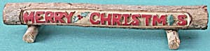 Vintage Wooden Christmas Decoration (Image1)