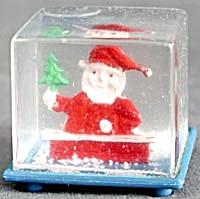 Vintage Santa Snow Globes (Image1)