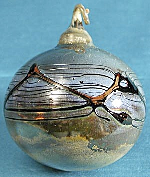 Blown Glass Ball Christmas Ornament (Image1)