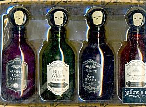 Halloween Poison Bottles Set Of 4 (Image1)