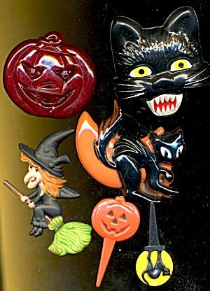 Vintage Halloween Mix Food Decorations (Image1)