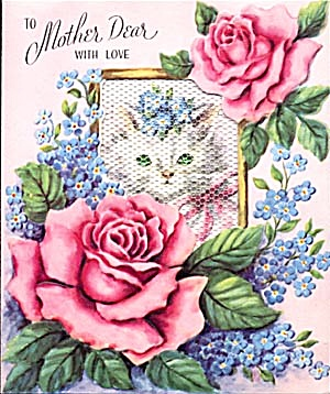 Vintage Mother's Day Card (Image1)